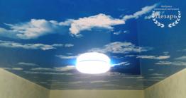"""Натяжной потолок """"Небо"""" во Владивостоке"""